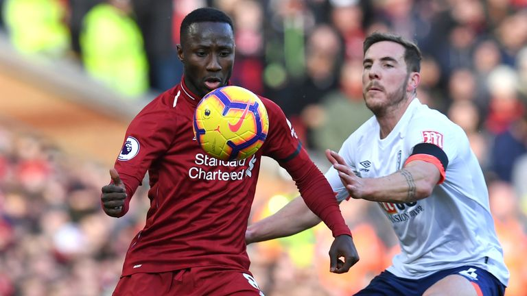 Naby Keita impressed in Liverpool's midfield