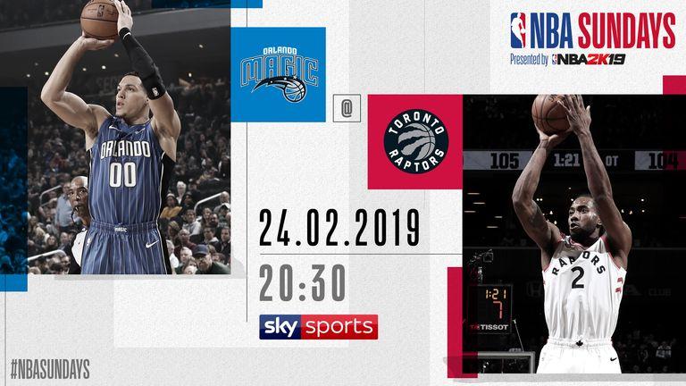 NBA Sundays - Magic @ Raptors