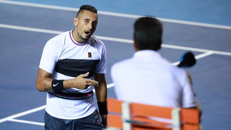Kyrgios match was full of drama