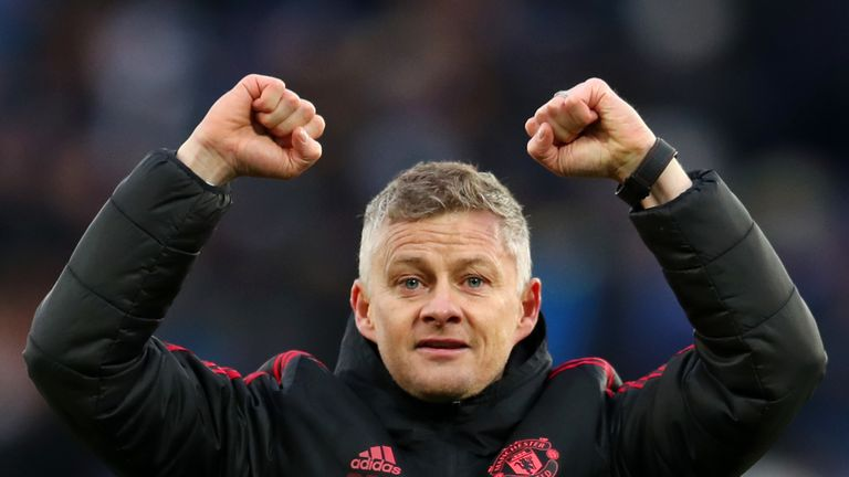 Ole Gunnar Solskjaer is in the running to be appointed Manchester United manager on a permanent basis