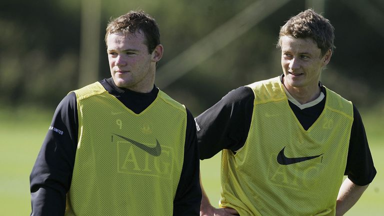 Ole Gunnar Solskjaer spent three years with Wayne Rooney at Man Utd