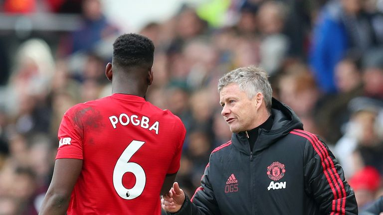 Pogba has enjoyed a significant up-turn in form since Ole Gunnar Solskjaer took over