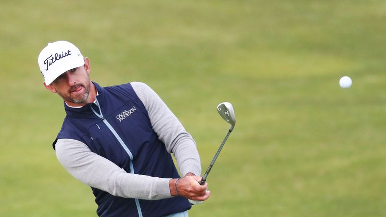 Australian Wade Ormsby leads the Vic Open by two shots after the third round