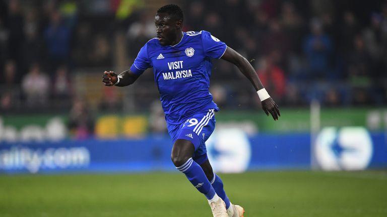 Niasse was on loan at Cardiff last season