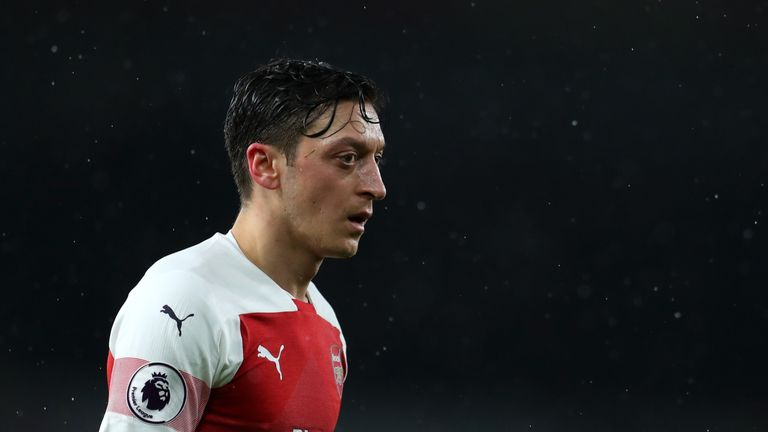 Ozil might be in Arsenal comfort zone, says Wenger