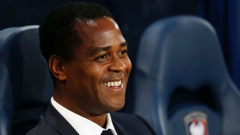Patrick Kluivert will be a guest on Monday Night Football