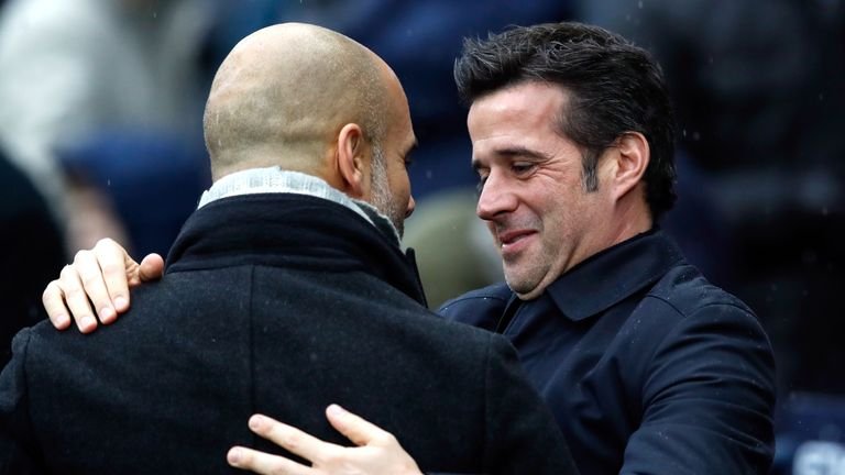 Will Marco Silva beat Pep Guardiola for the first time?