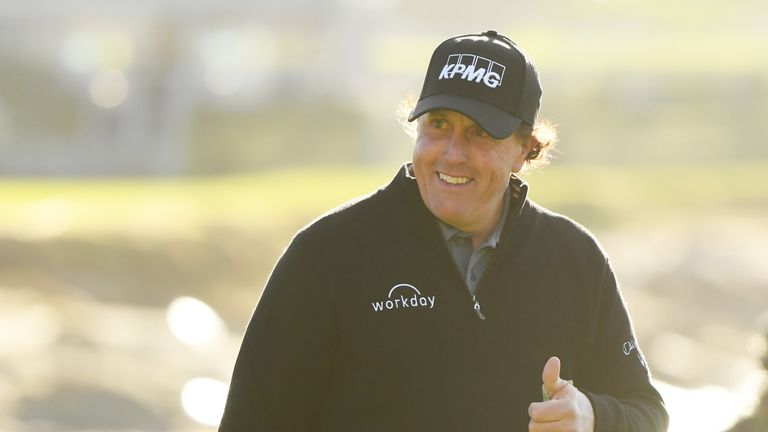 Phil Mickelson has another chance to complete a career Grand Slam at Pebble Beach, where he won in February