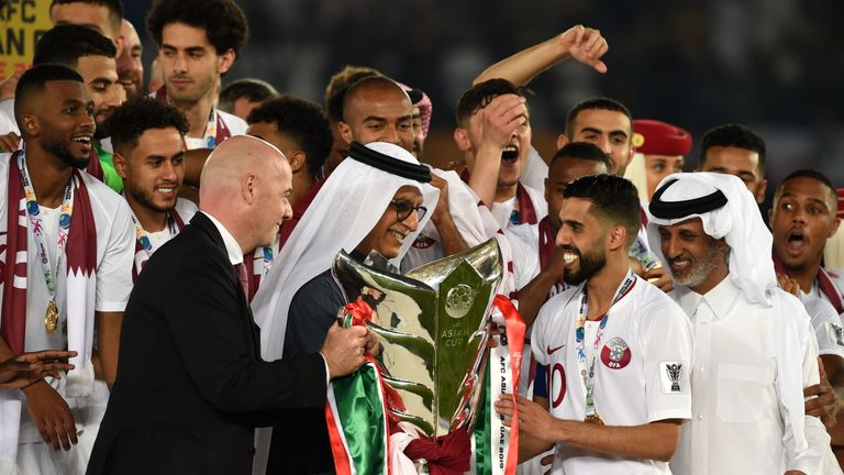 Qatar were surprise winners of the 2019 Asia Cup, held in the United Arab Emirates