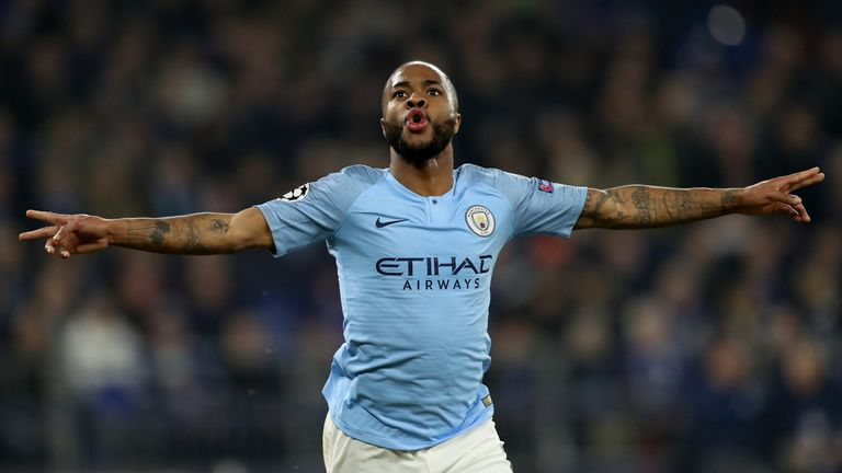 Raheem Sterling's goal was his second in the Champions League this season