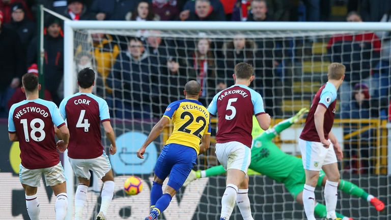 Nathan Redmond opened the scoring with a wonderful goal against Burnley