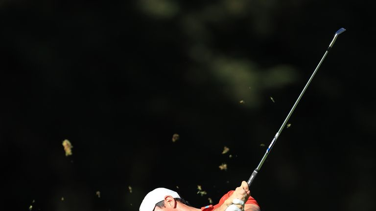 McIlroy leads by one from Dustin Johnson