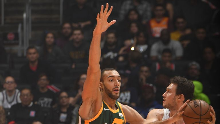Gobert is the reigning Defensive Player of the Year