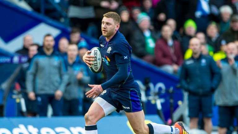 Finn Russell says silly errors cost Scotland against Ireland
