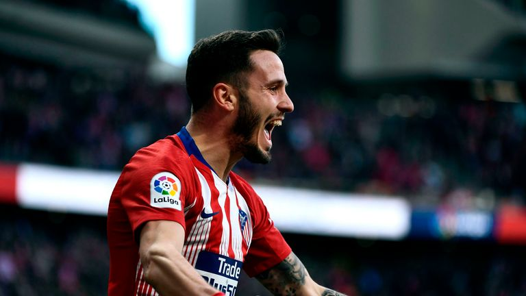 Barcelona want Atletico's Saul Niguez to bolster their midfield, according to AS