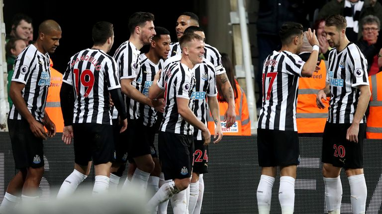 Benitez says Newcastle now need 40 points to be sure of Premier League safety