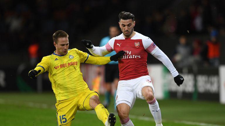 Sead Kolasinac created seven chances but struggled defensively