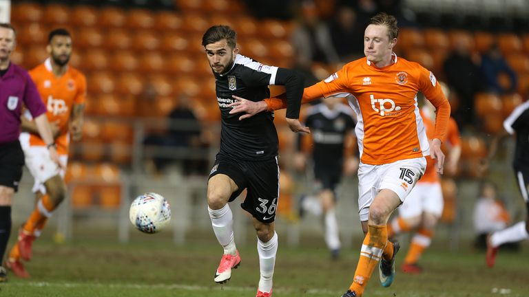 Longstaff's attitude and enthusiasm impressed Gary Bowyer at Blackpool