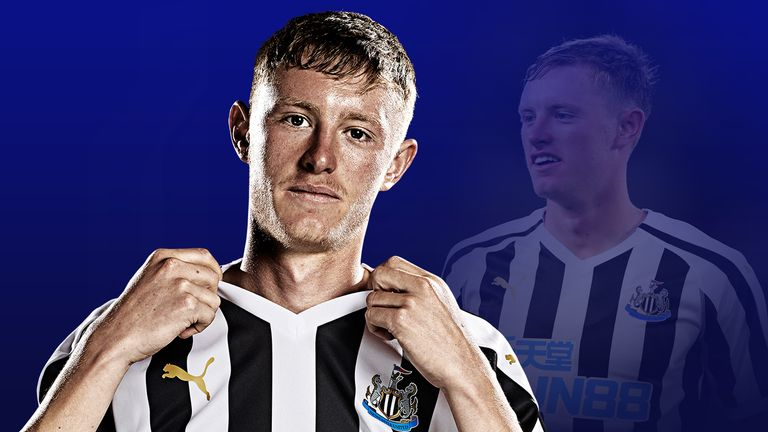 United are interested in Newcastle United midfielder Sean Longstaff