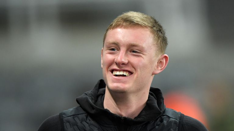 Sean Longstaff is a target for Manchester United
