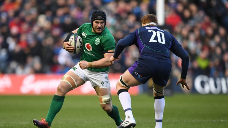 O'Brien played in Ireland's Six Nations win against Scotland on Saturday