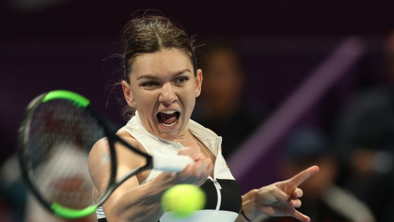 Halep and Mertens to meet in final of WTA Qatar Open