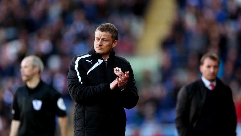 Solskjaer lost his only managerial meeting against Liverpool during his tenure at Cardiff