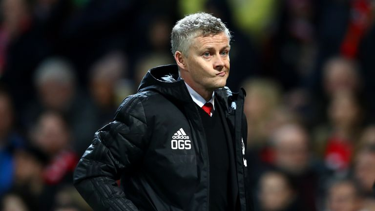 Ole Gunnar Solskjaer suffered his first defeat as Manchester United manager on Tuesday against PSG