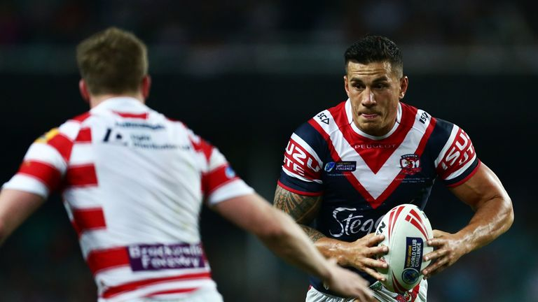 Williams has had two stints in rugby league with Canterbury Bulldogs and Sydney Roosters