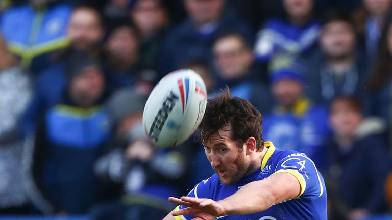 Warrington's Stefan Ratchford kicked strongly at goal too in the 28-14 success