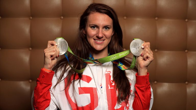 Jazz Carlin won two silver medals at the 2016 Rio Olympics