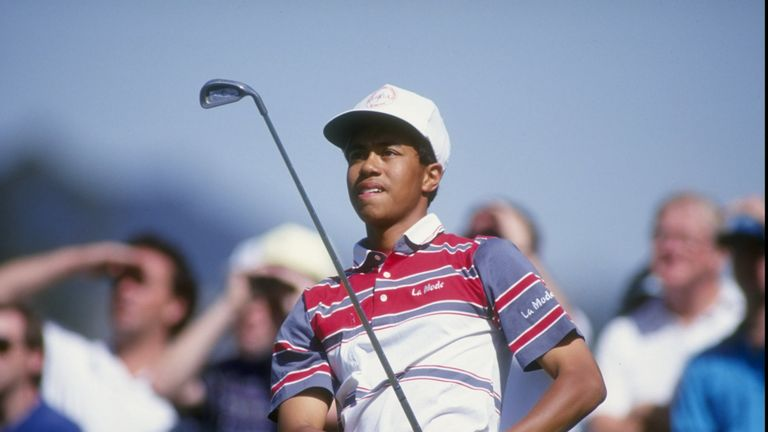 Woods finds inspiration from Mickelson's win at Pebble Beach