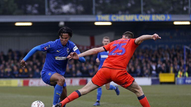 Toby Sibbick impressed against Millwall