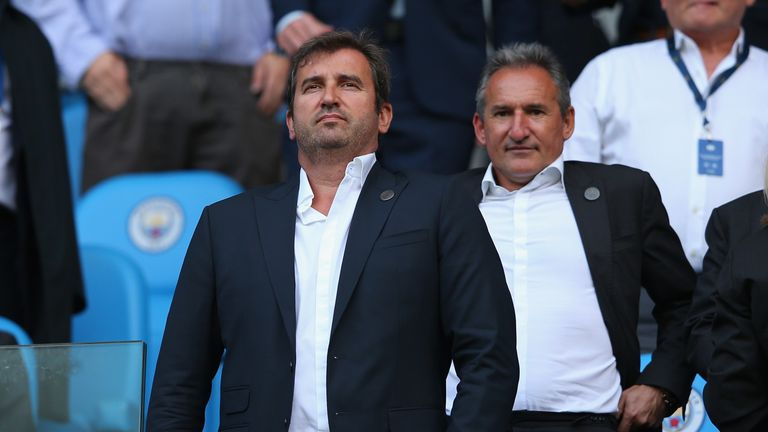 Ferran Soriano and Txiki Begiristain were instrumental in bringing Pep Guardiola to Manchester City