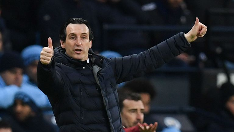 Emery is looking to win the Europa League for a fourth time as a manager