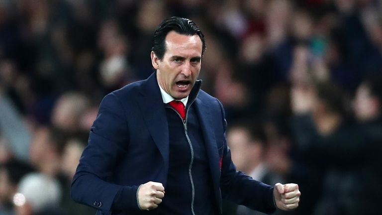 Unai Emery thinks Arsenal can win the Europa League