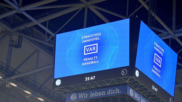 Two VAR reviews led to penalties being awarded during Manchester City's win