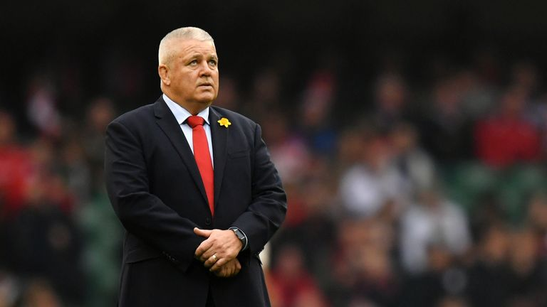 Warren Gatland re-iterated his belief Wales have forgotten to lose