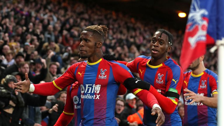 Crystal Palace have a strong record against teams in the bottom eight