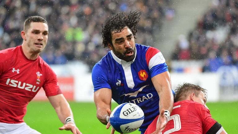 France winger Yoann Huget has already turned his focus to facing England