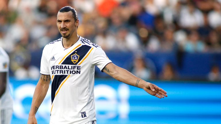 71e8211cf4f MLS round-up  Zlatan Ibrahimovic nets LA Galaxy winner in opening ...