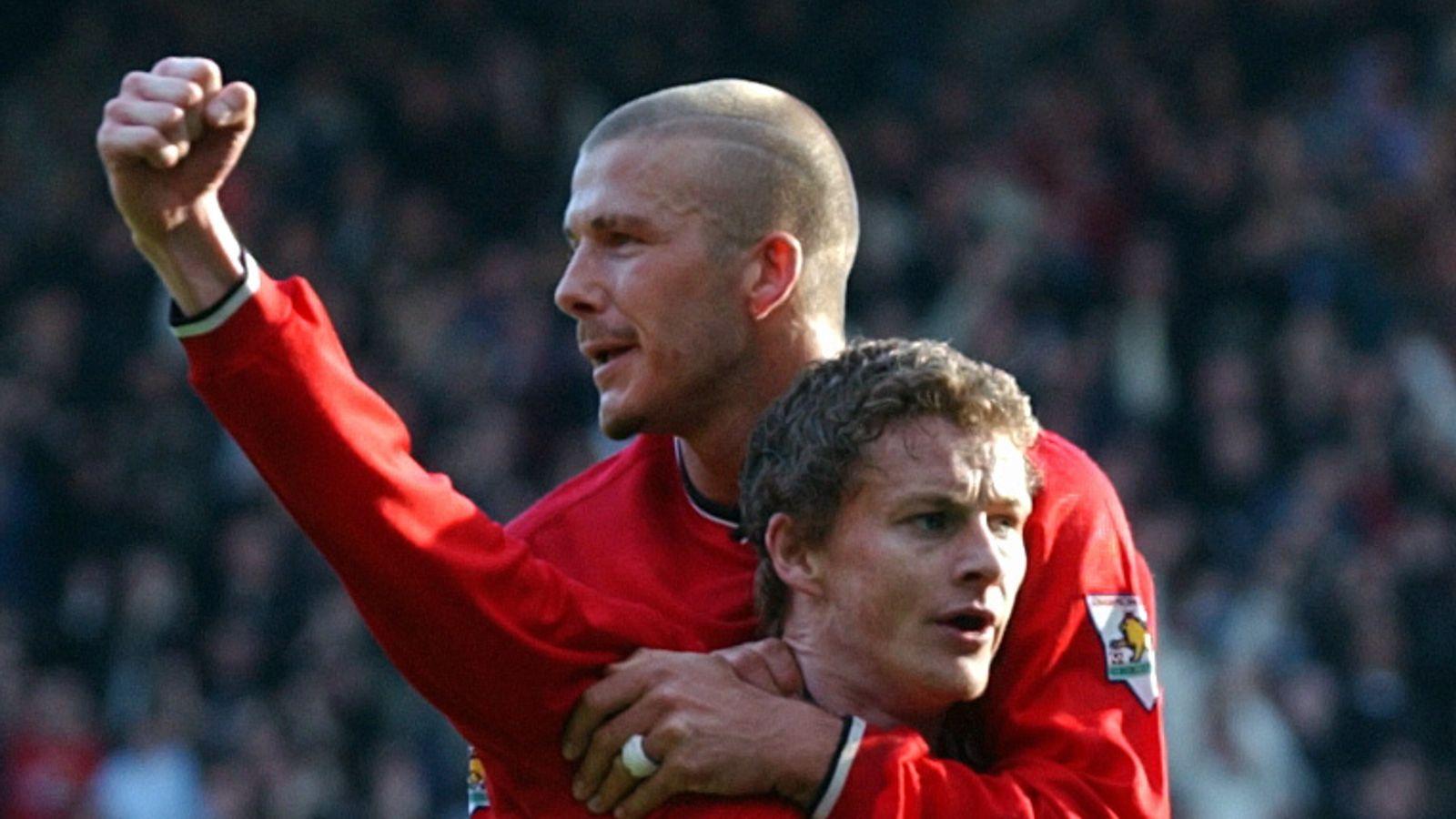 David Beckham: Ole Gunnar Solskjaer 'doing a good job' at Manchester United