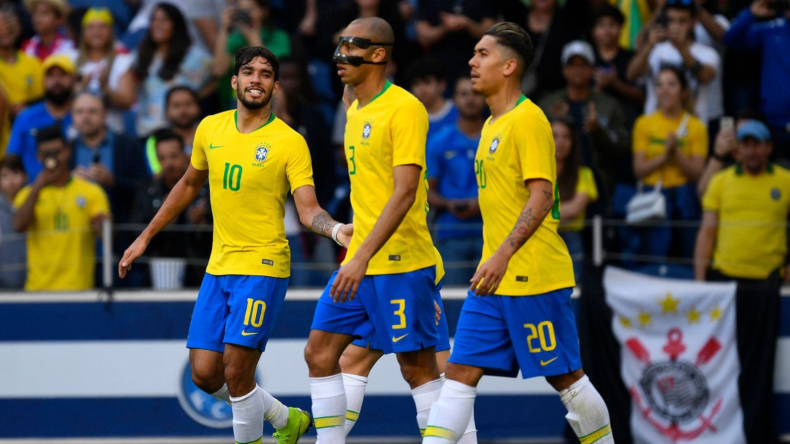 Brazil 1 - 1 Panama - Match Report & Highlights