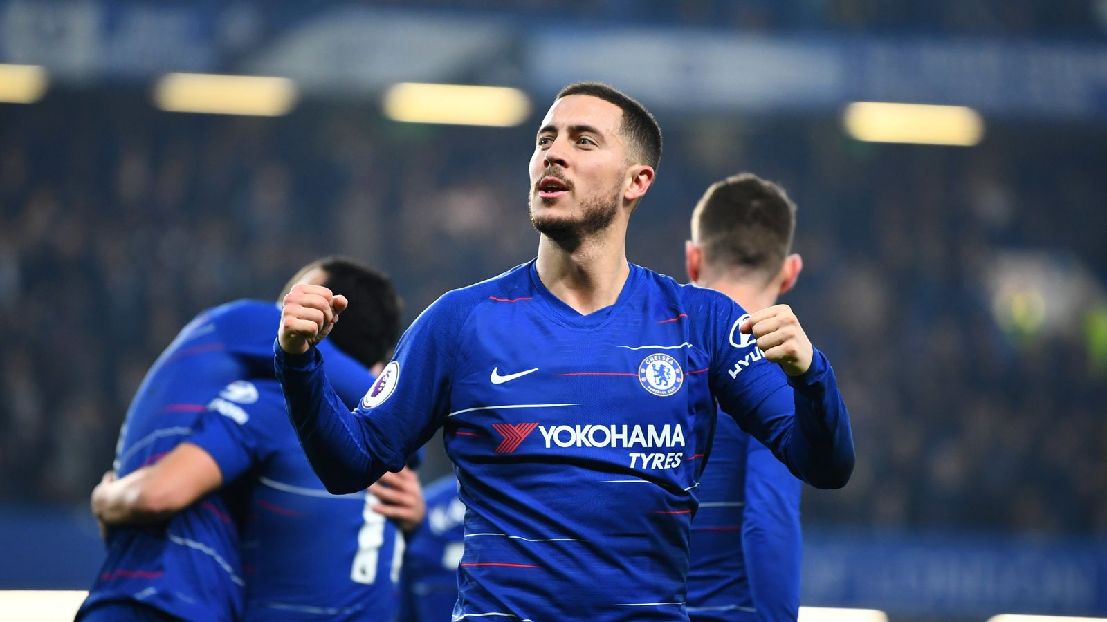 Eden Hazard Puts Real Madrid Transfer Talk On Hold