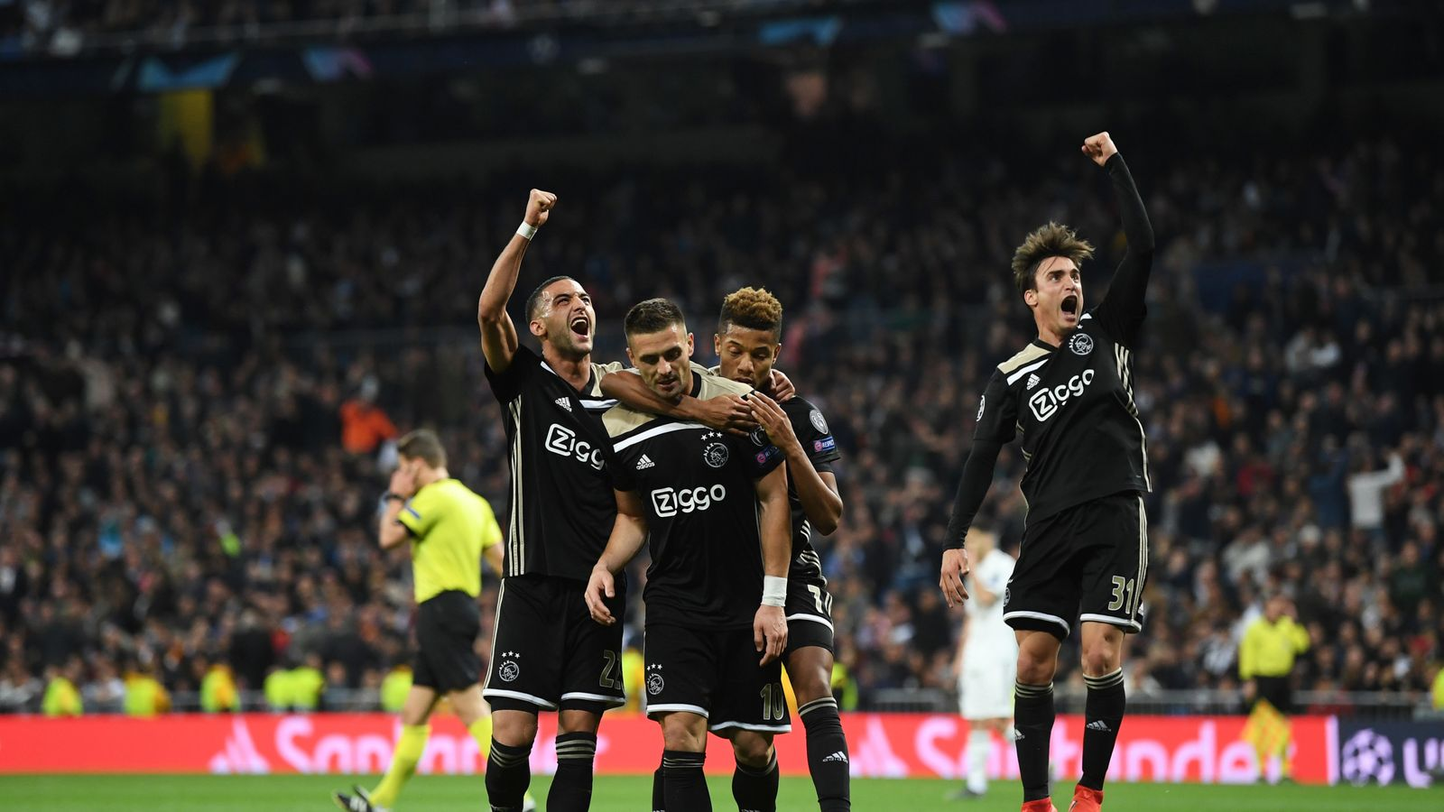 R Madrid 1 4 Ajax Match Report Highlights