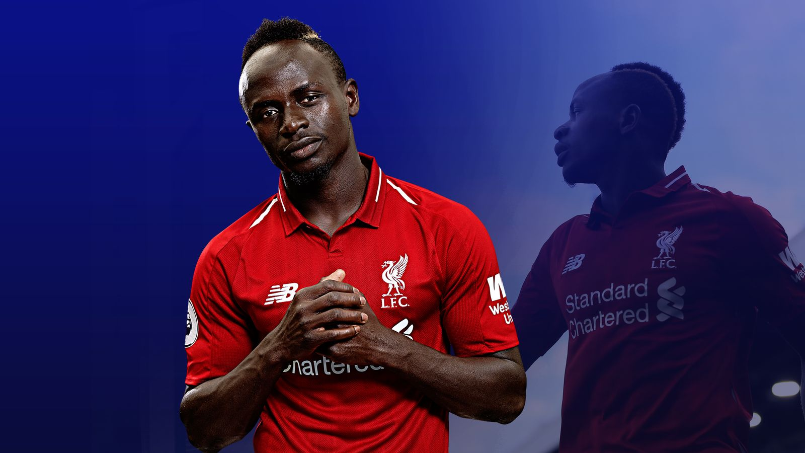 Sadio Mane has stepped up for Liverpool in the title run