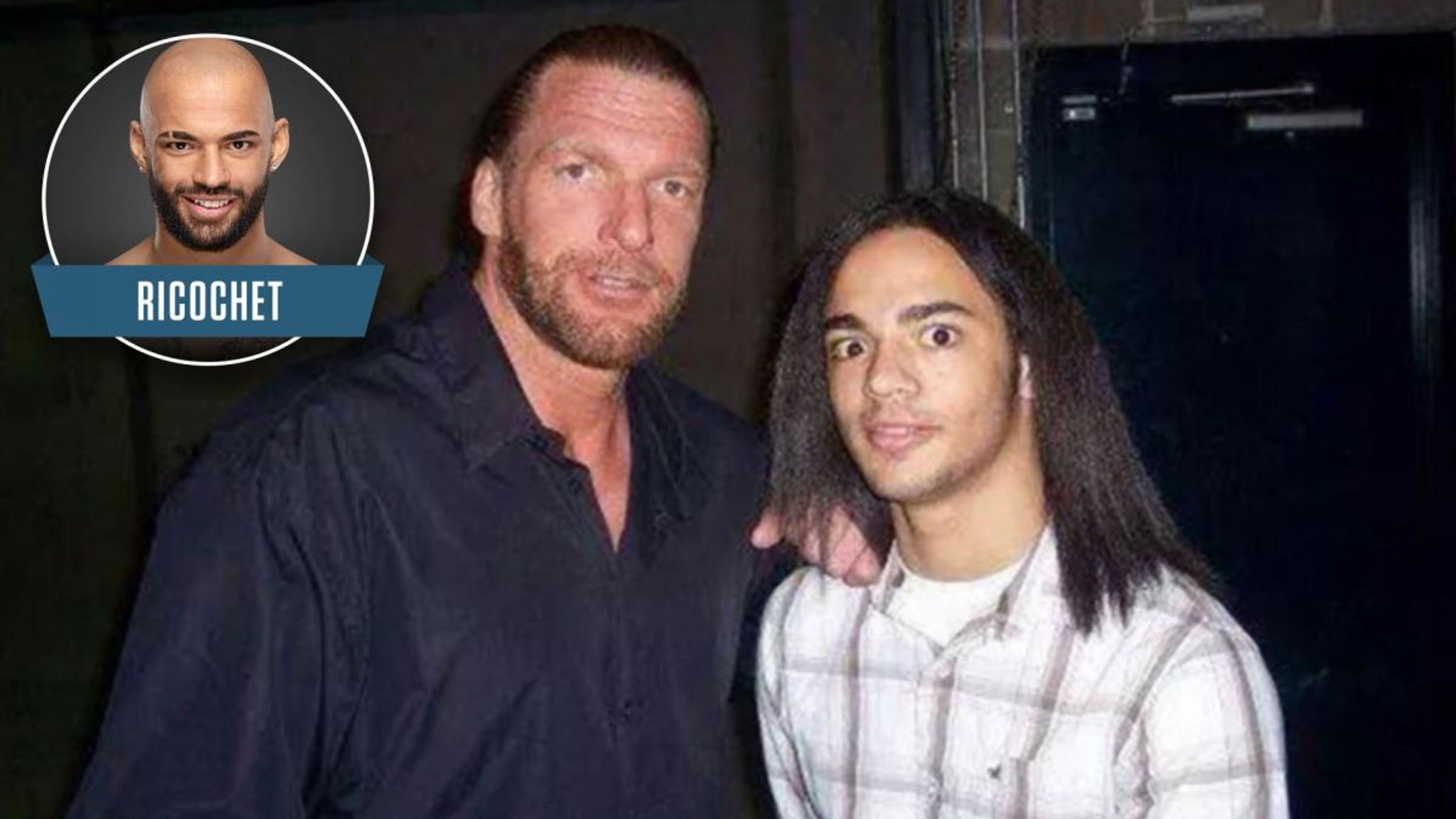 WWE superstars when they were fans - throwback picture special