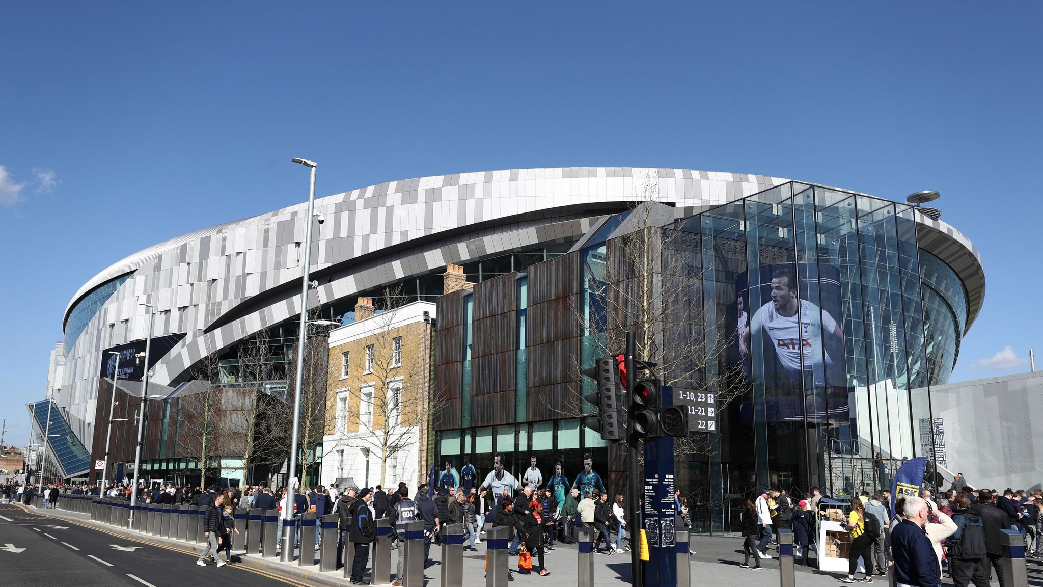 Tottenham S New Stadium All You Need To Know About Spurs New 1billion Ground Football News Sky Sports