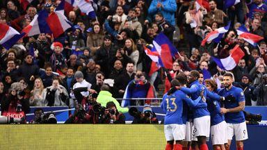 France beat Iceland 4-0
