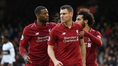 fifa live scores - James Milner takes blame for goal Liverpool conceded in win over Fulham